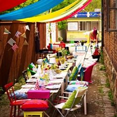 IKEA streetparty inspiration