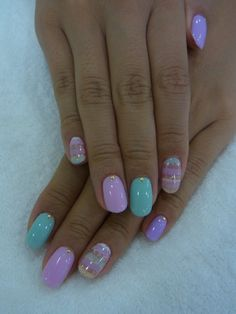 cute nails around Easter time?:)