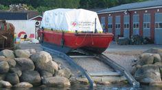 Environmental Rescue Barge Höganäs stationed RS Hörvik