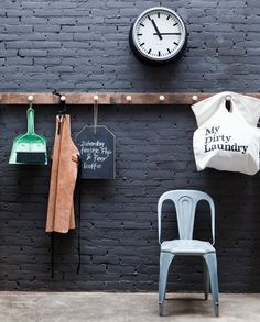 DIY Coat rack - Kapstok. Zelf een kapstok maken is in 30 minuten gepiept. Kijk op www.101woonideeen.nl