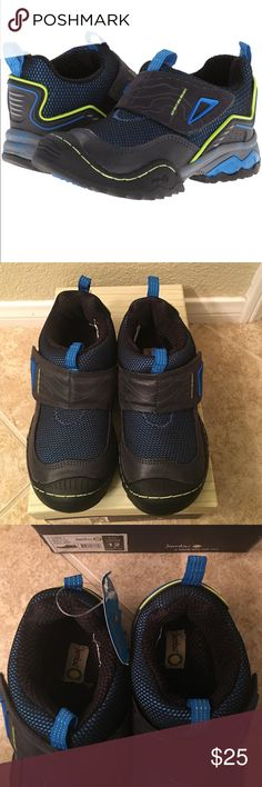 """Jambu Young Kids Boys Shoes Brand new in box. My son outgrew before he could wear. Jambu shoes style is """"Viper"""" in steel gray color. Jambu Shoes Sneakers"""