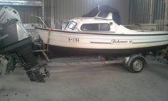 mayland fisherman 16 angelboot kaj tboot mit trailer und. Black Bedroom Furniture Sets. Home Design Ideas