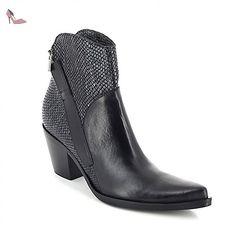 Donna Et Femme 38 Eu Nero Noir Piu Riana tequila Boots Bottes twUtrTq