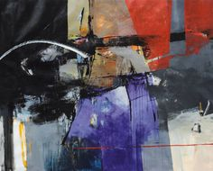 "Saatchi Art Artist Shabnam Parvaresh; Painting, ""Untitled 9"" #art"