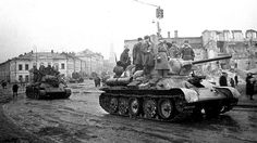 T-34 obr. 1943/44   T-34 entering the recently retaken Ukrai…   Flickr