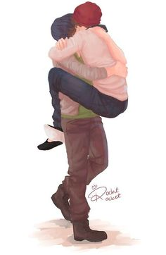 I can't live if I lose you. I remember this like it was yesterday. I'm crying so hard, this brings back sooooo many memories. One Direction Fan Art, One Direction Cartoons, One Direction Drawings, One Direction Pictures, Larry Stylinson, Desenho Harry Styles, Foto One, Louis Y Harry, Larry Shippers