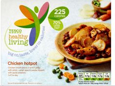 Tesco, Healthy Living Chicken Hotpot, frozen , 350g pack5 Syns on Extra Easy