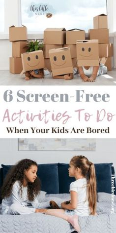 No-Screen Activities for Your Child During The Corona Virus Pandemic Rainy Day Activities, Indoor Activities For Kids, Toddler Activities, Learning Activities, Crafts For Kids, Summer Activities, Outdoor Activities, Easy Crafts, Gentle Parenting