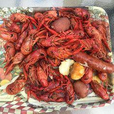 Happy summer from Louisiana! #crawfish