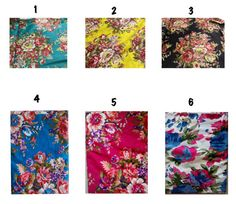 Bridesmaid gift robes. Set of 9 kimono robes. Getting by aaberi