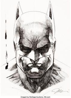 World's Largest Collectibles Auctioneer Batman Drawing, Batman Artwork, Batman Comic Art, Comic Book Artists, Comic Books Art, Arte Dc Comics, Marvel Comics, Ms Marvel, Captain Marvel