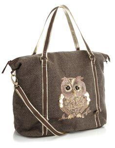 Sequin owl bag - Accessorize