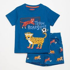 BLUE NEW SIZES 6 2,3,4,5 Chaps Boys Printed T Shirt /& 7  YEARS