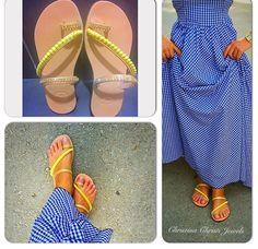 Toe Ring Gladiator Sandals, Pom Pom Sandals, Strappy Sandals, Summer Sandals, Greek Sandals, From Real Leather.