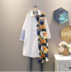 Shirt Blouses, Shirts, Kimono Top, Sea, Clothes For Women, Female, Outfits, Tops, Dresses