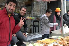 Iraqi baker - Amsterdam NL