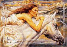 девушка на лошади, предпросмотр