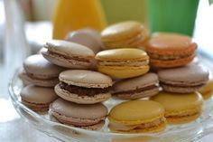 Macarons - makronky - best recipe! Macaroons, Cake Pops, The Best, Almond, Good Food, Easy Meals, Cupcakes, Sweets, Cookies