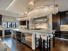 I adore the kitchen. 6601 Hunters Glen Road, University Park, TX - Home (MLS # - Coldwell Banker Residential Brokerage Dallas Real Estate, Expensive Houses, Estate Homes, Home Kitchens, Dream Kitchens, My Dream Home, Luxury Homes, Indoor Outdoor, Outdoor Decor