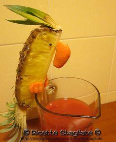 Decorazioni per buffet: il pappagallo