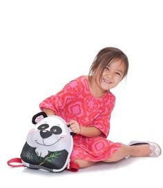 okidog - Wildpack - Panda    Wildpack are 6 lovable animals with adorable faces and plush ears designed to delight and entertain toddlers aged 2-4 years old.