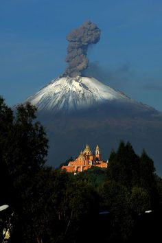 Popocatepetl, an active volcano located in the states of Puebla, State of Mexico, and Morelos, in Central Mexico, lies in the eastern half of the Trans-Mexican volcanic belt. At 5,426 m (17,802 ft) it is the second highest peak in Mexico, after the Pico de Orizaba at 5,636 m (18,491 ft).