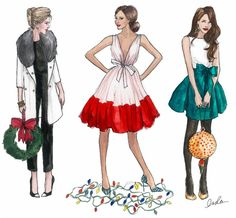 fashion design sketches for girls