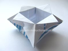 Easy Origami Star Box 4