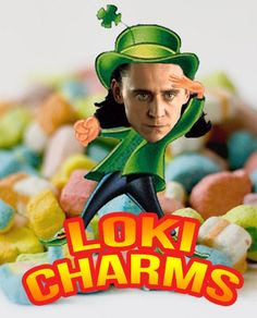 The New Loki Charms… I don't know why I thought this was so funny :)