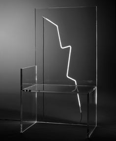 robert wilson illuminates 7 electric chairs for kartell