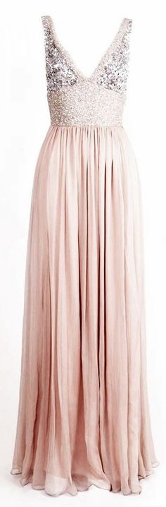 Beautiful pink and sequin dress