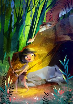 The Jungle´s Book on Behance
