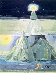 Taniquetil, the holy mountain - by J.R.R. Tolkien