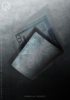 power vs poverty by BetweenTheClouds.deviantart.com on @deviantART