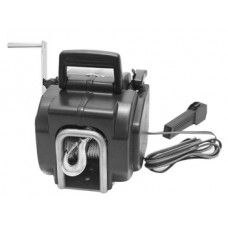 This 3000lbs Heavy Duty Electric Boat Winch has a powerful 9500lbs rolling power, 8500lbs marine power and 3000lbs pulling power.  This elecric winch is 12V DC powered for convenient use without the need for extension cords or small gas engines.