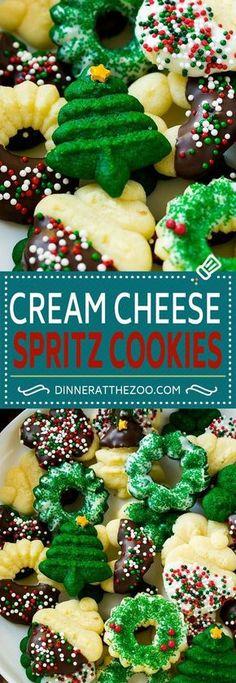 Cream Cheese Spritz Cookie Recipe   Butter Spritz Cookies   Best Spritz Cookies   Holiday Cookies   Christmas Cookies