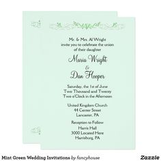 Mint Green Wedding I