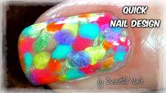 Neon Rainbow Nails Art Design Neon Rainbow, Rainbow Nails, Rainbow Nail Art Designs, Nail Designs, Red Manicure, Youtube, Beautiful, Nail Desighns, Nail Design