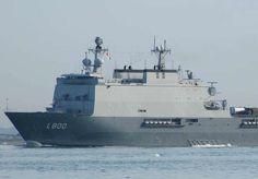 Royal Netherlands Navy (RNLN) landing platform dock HNLMS Rotterdam (L800).