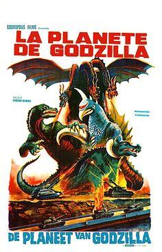 "Godzilla On Monster Island (1972) aka ""Godzilla Vs. Gigan"""