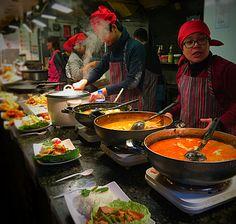 Thai,Camden Market Street food, January 2015