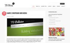 Drupal Themes themebrain TB Blog
