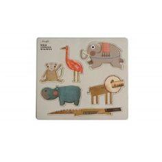 Wild animals magnets