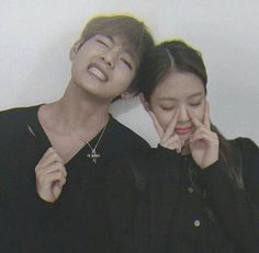 Swag Couples, Kpop Couples, Cute Couples, Kim Jennie, Mister And Misses, Grunge Couple, Classy Couple, Sister Pictures, Blackpink Funny