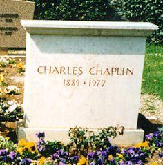 Charlie Chaplin Corsier Cemetery Corsier-sur-Vevey District de la Riviera-Pays-d'Enhaut Vaud, Switzerland