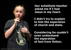 Seperation of Fact from Fiction | #Atheist