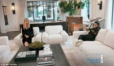 KUWTK: Stormi debuts after Kylie Jenner pulls off secret pregnancy Kardashian Home, Kourtney Kardashian, Kylie Jenner House, Ikea Home, Home Living Room, Furniture Decor, Cribs, Interior Decorating, House Design