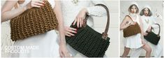 Atelier Avanzar Handknitted Design Handbags Respecting High Ethical Standards.