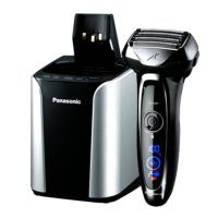 Shop Panasonic Wet Dry Electric Shaver with Shave Sensor Technology and Automatic Cleaning/Charging Station. The linear motor electric razor from Panasonic has a shaving sensor that adjusts cutting power based on beard density and five precision blades. Panasonic Electric Shaver, Best Electric Shaver, Panasonic Shavers, Electric Razors, Mens Shaver, Foil Shaver, Shaving Machine, Lame, Men's Grooming