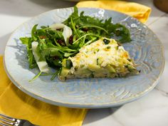 Seasonal Mexican Frittata with Salad Recipe : Marcela Valladolid : Food Network - FoodNetwork.com